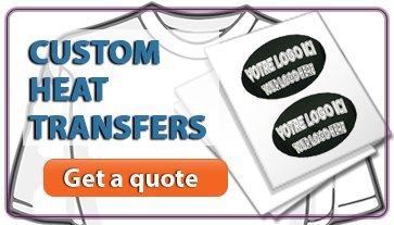 Request a quote to create your own high quality Custom Heat Transfer Paper