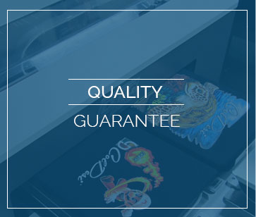 quality custom embroidery and screen printing quarantee
