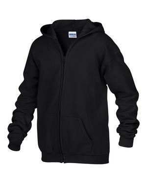Picture of FULL ZIP HOODED YOUTH SWEATSHIRT-186B