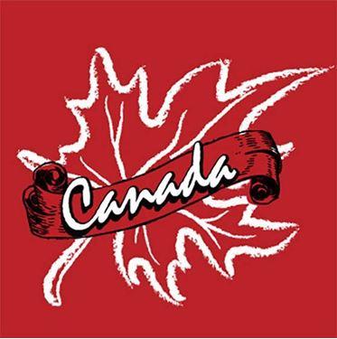 Image de 095 Canada Leaf Scrool