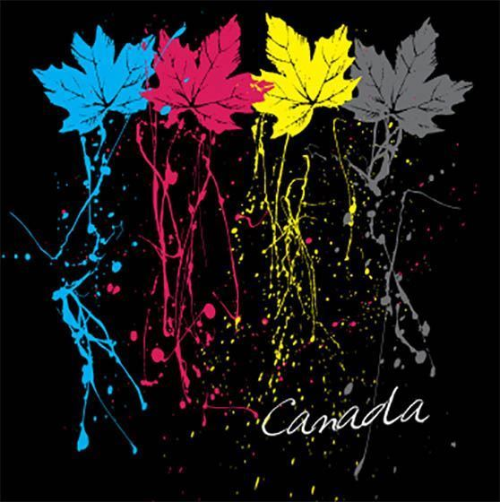 Picture of 098 Canada Neon Leaves