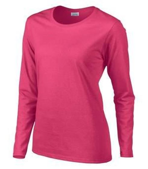 Picture of MISSY FIT LONG SLEEVE T-SHIRT-5400L