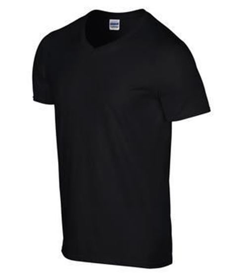 Picture of GILDAN® SOFTSTYLE® V-NECK T-SHIRT. 64V00