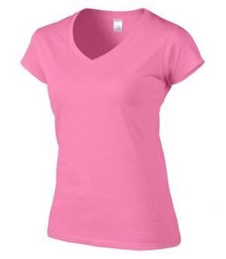 Picture of V-NECK LADIES' T-SHIRT-64V00L