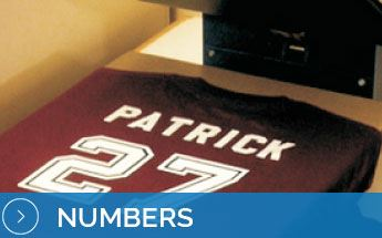 Heat transfer paper numbers