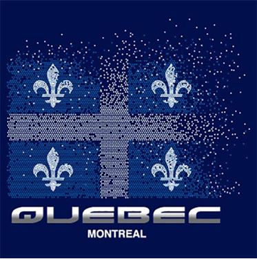 Image de 070 Quebec Flag Dots
