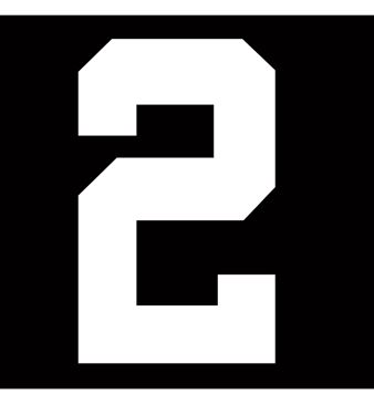 Picture of 2 HOCKEY NUMBER