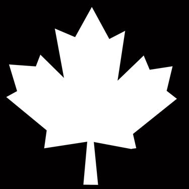 Picture of 150 SOLID CANADA LEAF