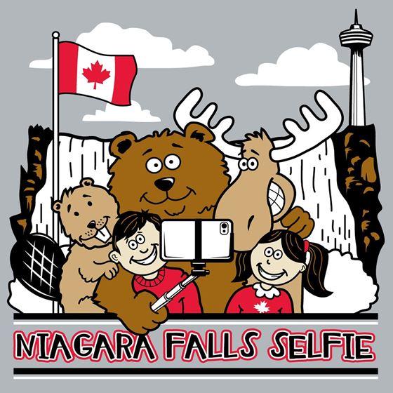 Image de 166 Niagara Falls Selfie