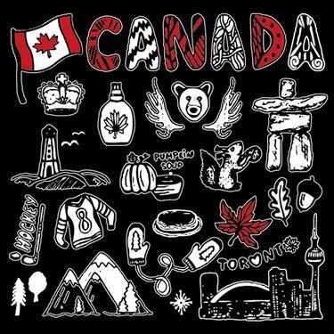 Image de 203X  SYMBOLE DU CANADA