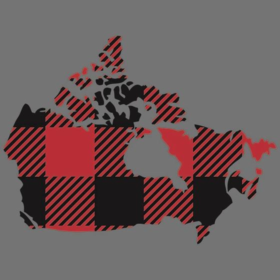 Picture of 224 PLAID CANADA MAP