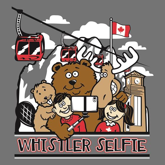 Image de 234 WHISTLER Selfie