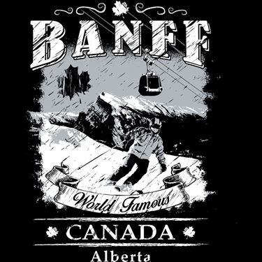 Picture of 235 BANFF SKETCHY