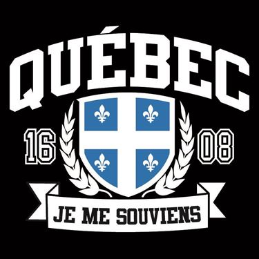 Picture of 277 SHIELD BANNER QUEBEC JE ME SOUVIENS