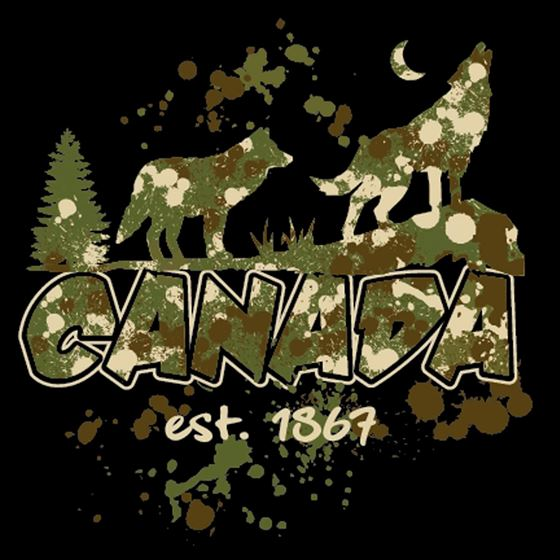 Picture of 164 Wolves Splatter CANADA