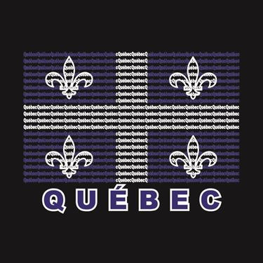 Picture of 048 Quebec Word Flag