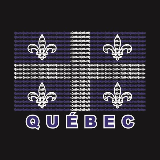 Image de 048 Quebec Word Flag